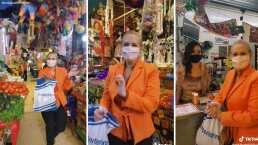 Erika Buenfil se escapa al mercado de Coyoacán al ritmo de la Banda Machos