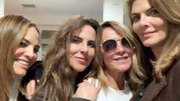 Montserrat, Fabiola y Roxana invaden la casa de Kate del Castillo: celebran 25 años de 'las lagartonas'
