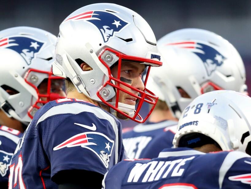 Los New England Patriots tienen una marca de 12-3 y son líderes de la División Este de la Conferencia Americana.