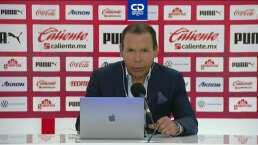 Al 'Profe' Cruz el 2-2 contra Chivas le supo a derrota