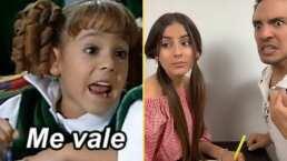 """""""Me vale"""": Vadhir Derbez y su novia recrean divertida escena entre María Belén y Ludovico P. Luche"""