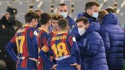 Messi, incógnita para la final de la Supercopa