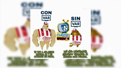Las Chivas caen 1-0 en su visita al América, y los memes no se tardaron en atacar al cuadro tapatío.