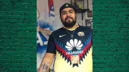 ¡Apuesta dolorosa! Perdió su América y se tatúa escudo de Chivas