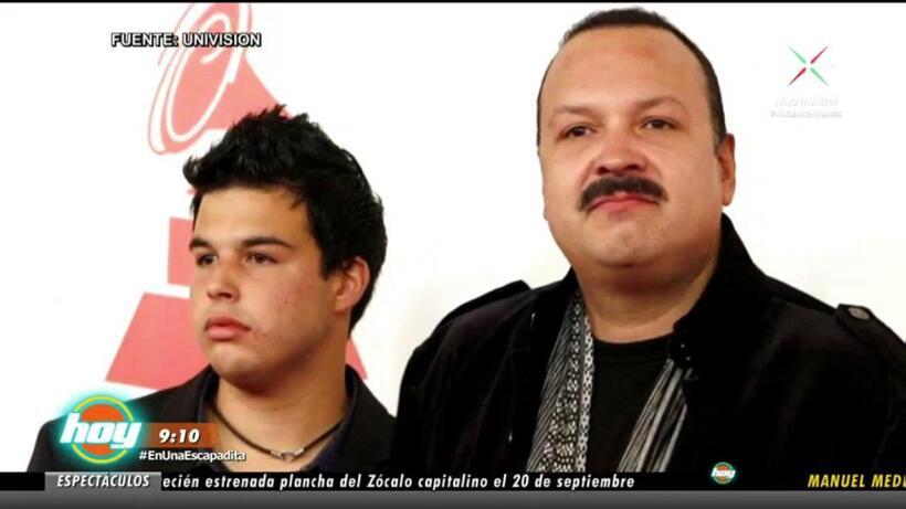 Hijo de Pepe Aguilar agradece apoyo de su padre