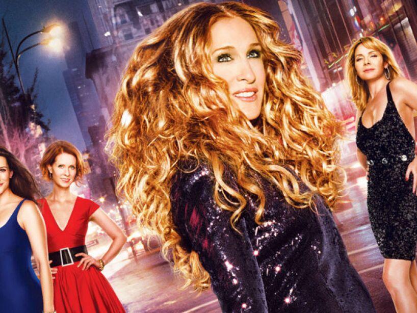 Nunca JAMAS ninguna de las actrices principales repitió una sola prenda durante el show.
