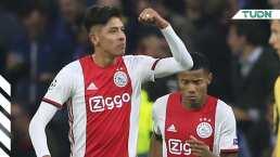 Edson Álvarez, titular con el Ajax ante Valencia