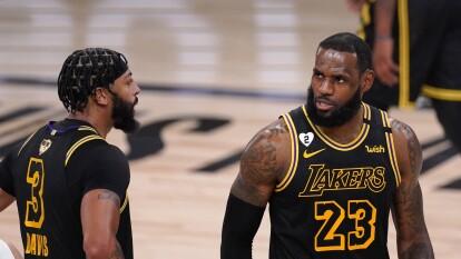 LA Lakers vence al Miami Heat 124-114 y ponen la serie 2-0 | El Heat reaccionó durante el tercer cuarto, pero no fue suficiente para vencer al equipo de LeBron y Anthony Davis.