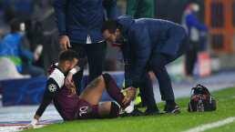 Neymar sufre nueva lesión y va directo al vestidor