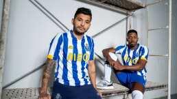 Tecatito, Marchesín y Matheus presumen nueva playera del Porto