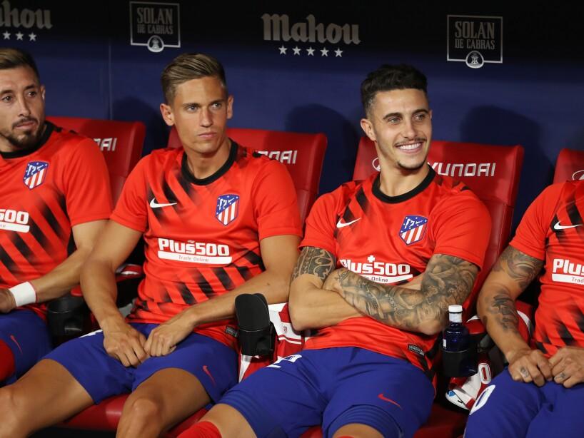 Herrera y Araujo empatan a cero goles en el Wanda Metropolitano