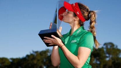 Gaby Lopez de Mexico se lleva el Torneo de Campeones Diamond Resorts en el Tranquilo Golf Course, dentro club de golf y deportes Four Seasons en Orlando. Este torneo se llevó a cabo en el Lago Buena Vista, Florida. Es el segundo título en la carrera en la LPGA de la mexicana.