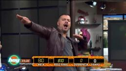 Tommy Vásquez se convierte en Rey de la báscula