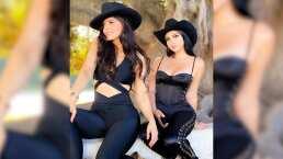 Como unas atractivas bandidas, Ana Bárbara y la 'Reina de las Selfies' roban suspiros en TikTok