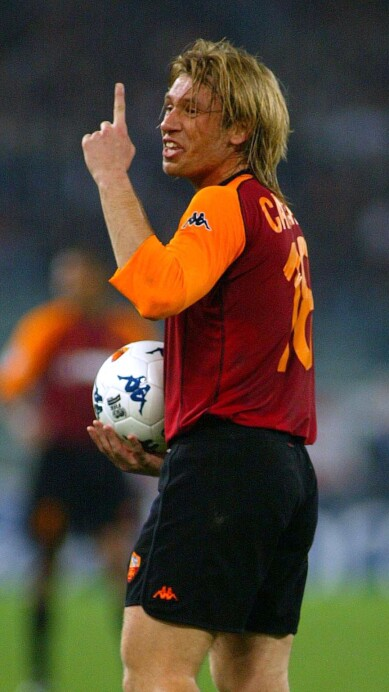 Antonio Cassano of Roma
