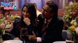 Renée y Mauricio se hacen pasar por esposos de Vero y Toño