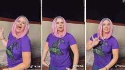 Llenan de piropos a Erika Buenfil tras aparecer con el cabello rosa: 'Hermosa y natural'