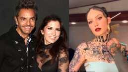 """Así reaccionó Eugenio Derbez cuando su esposa le pidió tatuarse su nombre: """"Yo tengo mi propia Belinda"""""""