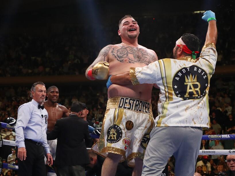 Anthony Joshua v Andy Ruiz Jr.