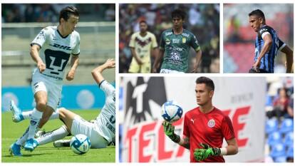 Son jugadores de Liga MX casi todos menores de 24 años para refrescar la baraja.