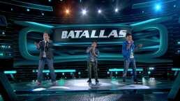 Batalla 3: Un trío de galanes enamoran el escenario de La Voz Kids