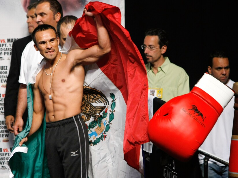 Casamayor v Marquez Weigh-In