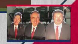 ¡No podían faltar! Los tres amigos están en la Serie Mundial 2020
