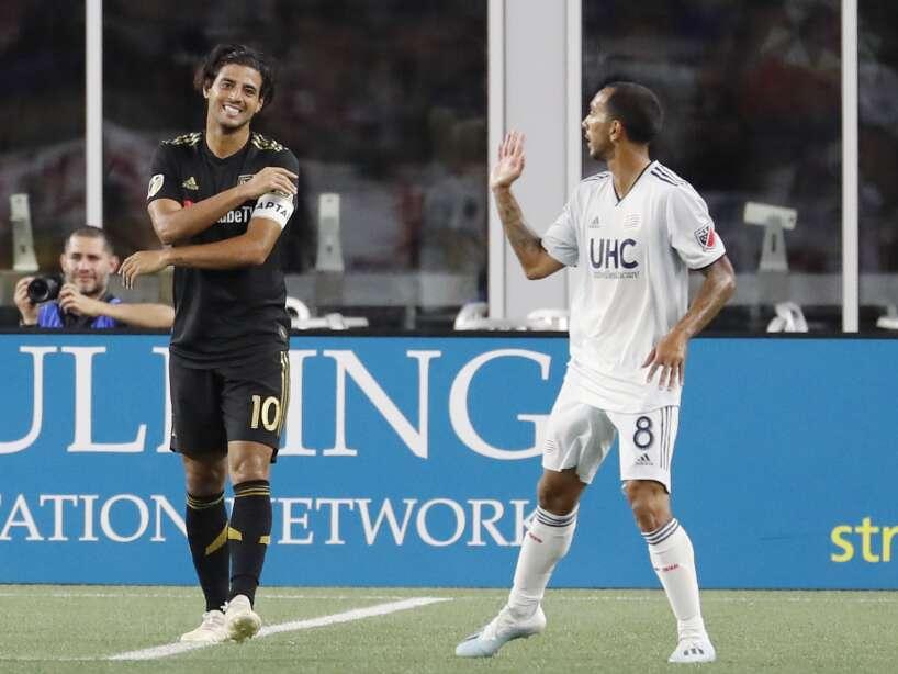 LAFC vs New England Revolution, MLS