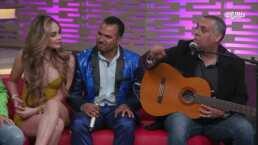 César Filio le entra a una competencia de chistes con El Indio Brayan