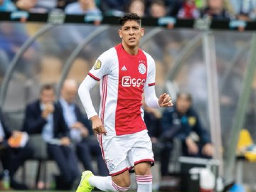 Así fue el debut de Edson Álvarez con el Ajax