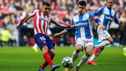El Atleti no puede con el Leganés del vasco Aguirre, penúltimo lugar de la tabla, y empatan 0-0. El mexicano Héctor Herrera entró al minuto 62 del encuentro.
