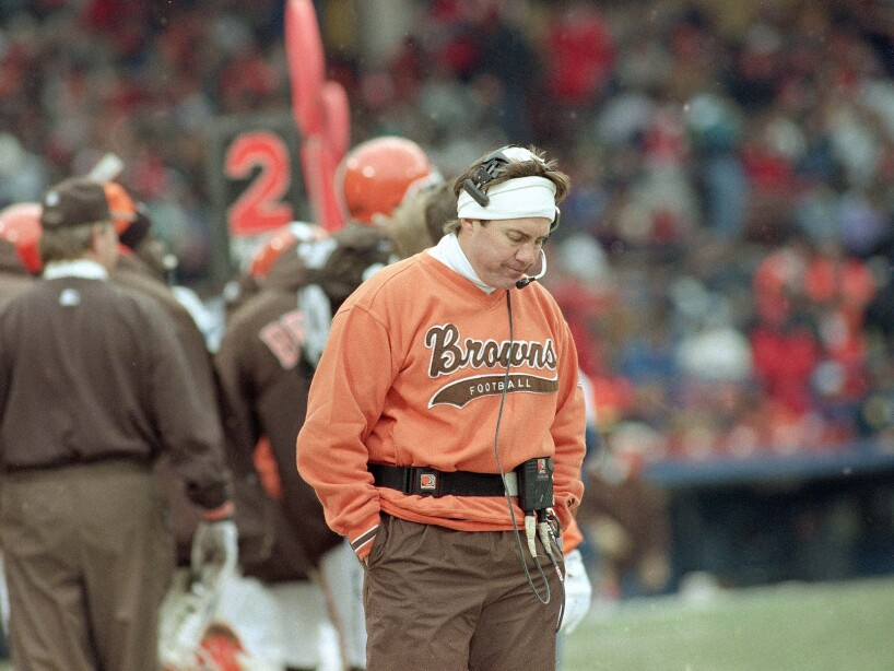 Browns head coach Bill Belichick
