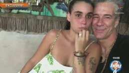 Así fue la romántica propuesta de matrimonio de Fernando Carrillo a su novia de 24 años