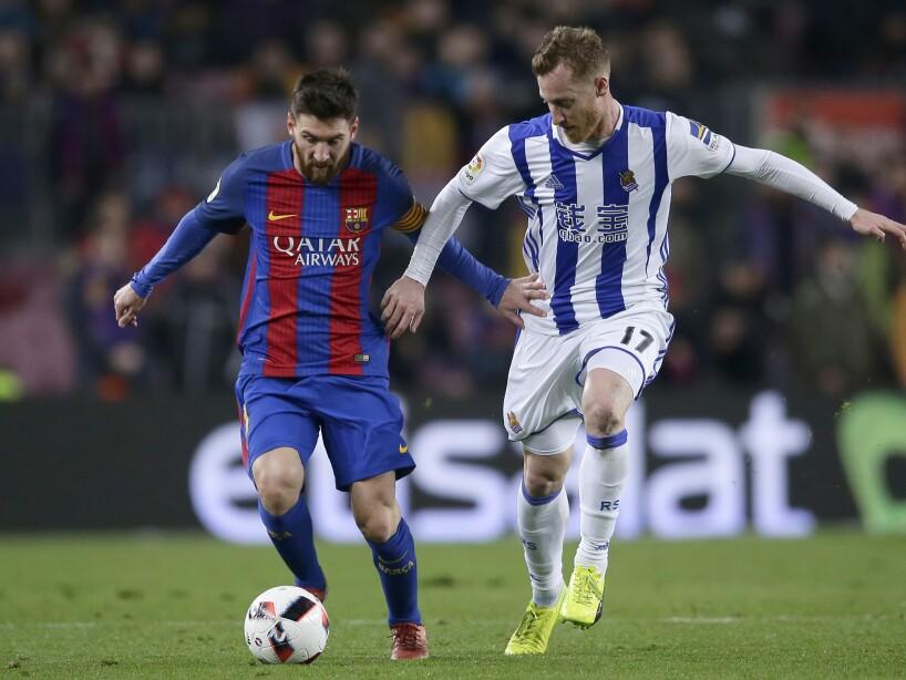 Lionel Messi, David Zurutuza