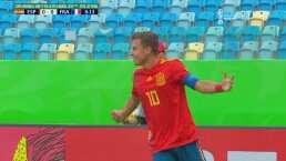 ¡Terrible salida! Varela adelanta a España tras error de Francia