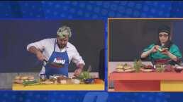 Violeta Isfel se enfrenta a Paul Stanley en duelo por preparar la mejor hamburguesa