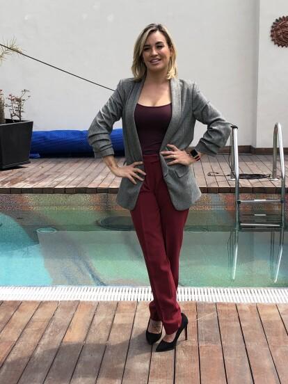 María José interpreta a Paulina, una guapa doctora y madre de familia