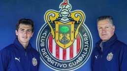 Adrián Villalobos se incorpora a Chivas