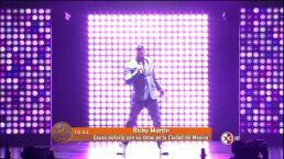 Ricky Martin da concierto en el DF