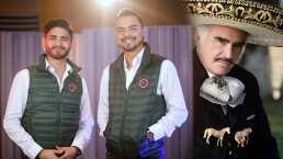 Los cantantes de Banda El Recodo ven como un gran ejemplo a Vicente Fernández