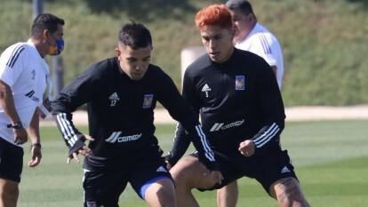 Tigres entrena para su primer partido en el Mundial de Clubes