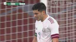 ¡Tremenda falla de Raúl Jiménez, deja ir el primer gol!