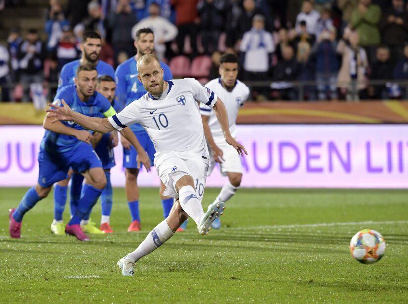 Finland Greece Euro 2020 Soccer