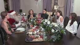 Entre amigas, Montserrat Oliver y Yolanda Andrade celebran la Navidad con un brindis