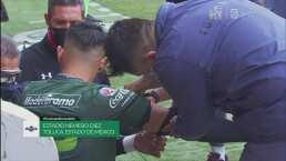 Se retrasa el inicio de juego por las mangas del portero del Toluca