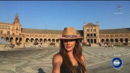 De viaje a Sevilla con Rossana