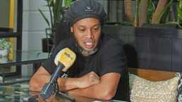 """Ronaldinho se confiesa en Paraguay: """"Han sido sesenta días largos"""""""