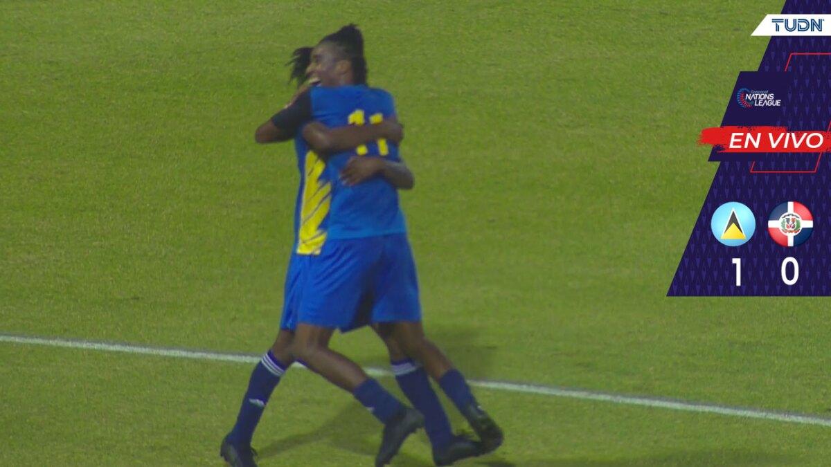 Santa Lucía sorprende en la Concacaf Liga de Naciones - TUDN MEX