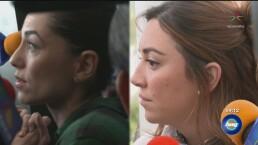 Bárbara Mori y Regina Blandón huyen de la prensa