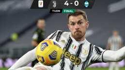 Juventus golea al SPAL sin CR7 y avanza en Copa Italia